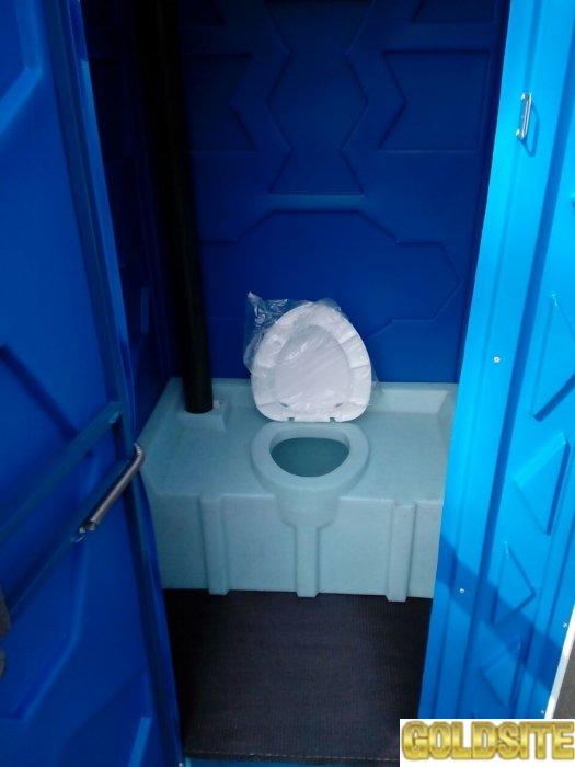 Биотуалет.   Кабина туалетная