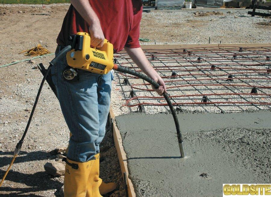 Goldsite Вибратор для бетона