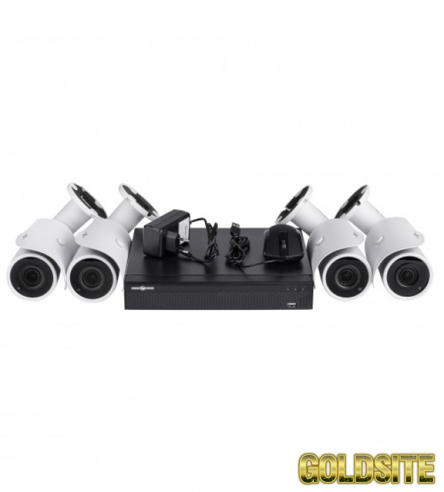 ІР Комплект Відеоспостереження GV-ІР-К-L19/04 1080 P