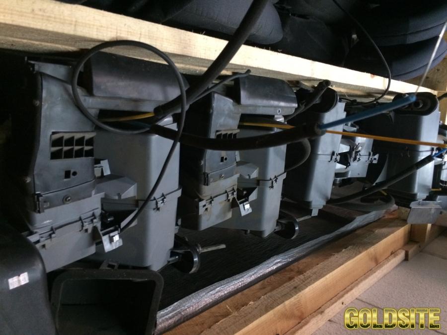 б/у Корпус отопителя (печка салонная)  в сборе с радиаторами на Chery Amulet (Чери Амулет)