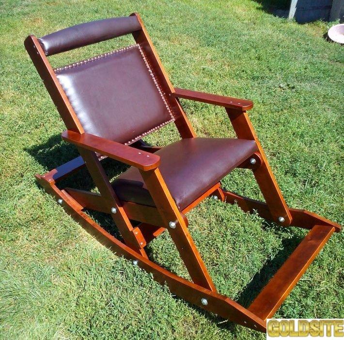 Дачне крісло гойдалка