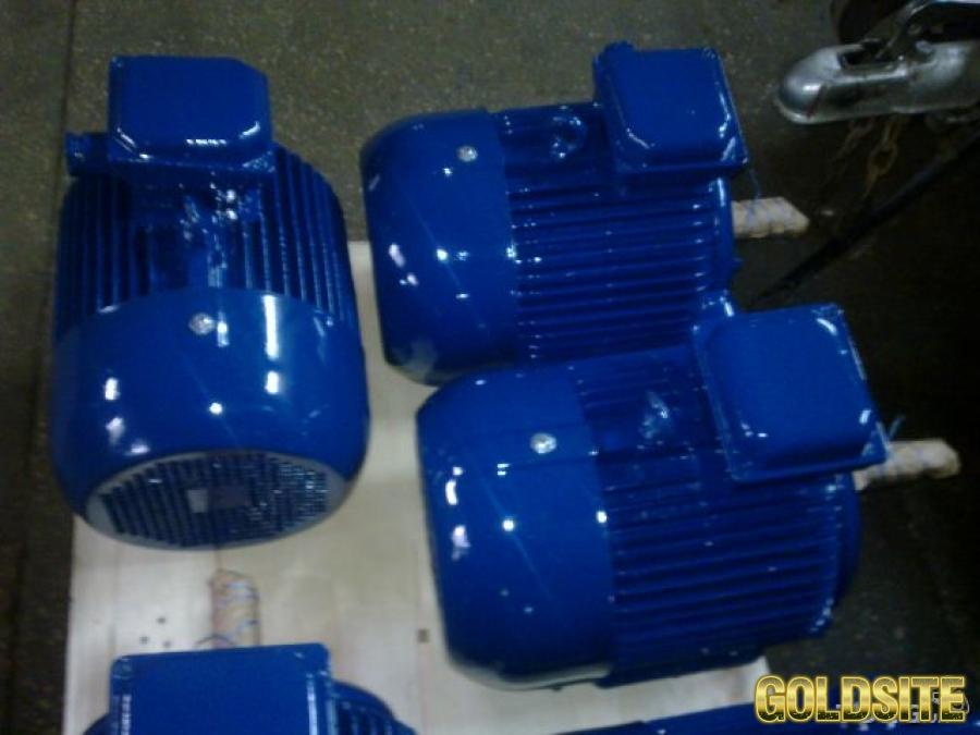 Электродвигатель серии 4АМ-132-М2.  11 кВт.  3000 об. м.