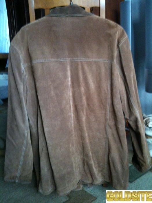 Продается куртка мужская замшевая