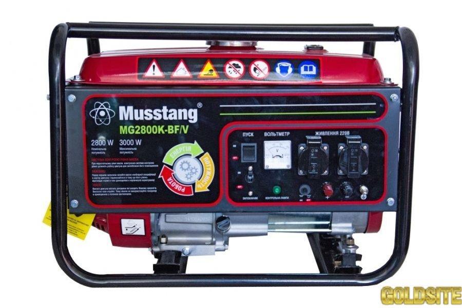 Продажа бензиновых двухтопливных генераторов MG2800K-BF