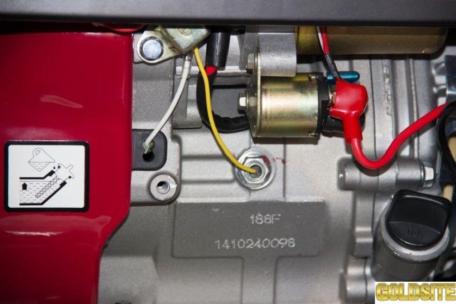 Генератор бензиновый с функцией работы на газе Musstang MG5000K-BF