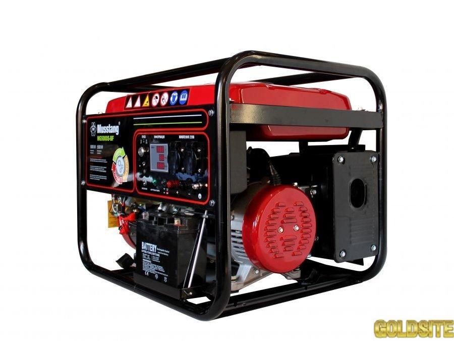 Продажа газового генератора (двухтопливного)  Musstang MG5000S-BF