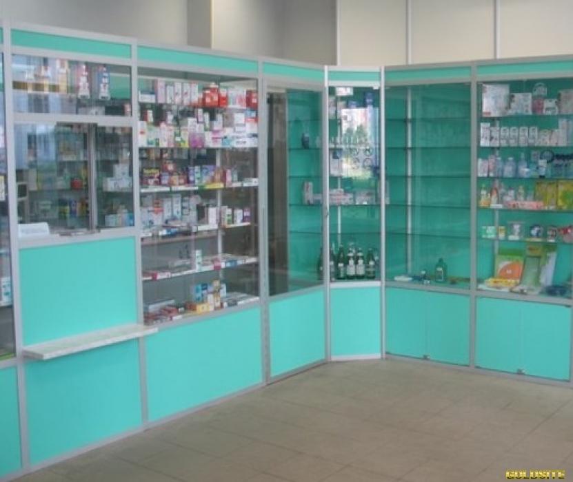 Медицинская мебель для аптеки или салона красоты.