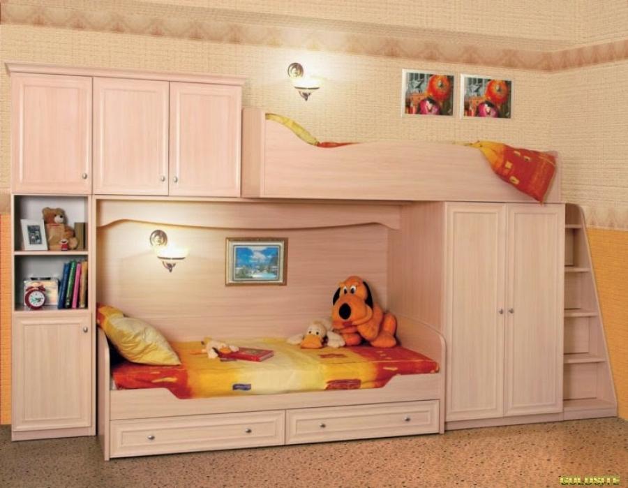 Шкафы купе в детскую от производителя под заказ.
