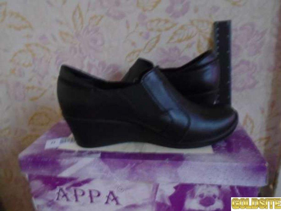 Новые кожаные осенние туфли р=37(24 см)