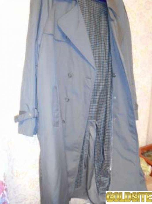 Плащ-Пальто мужское демисезонное Р-54-56
