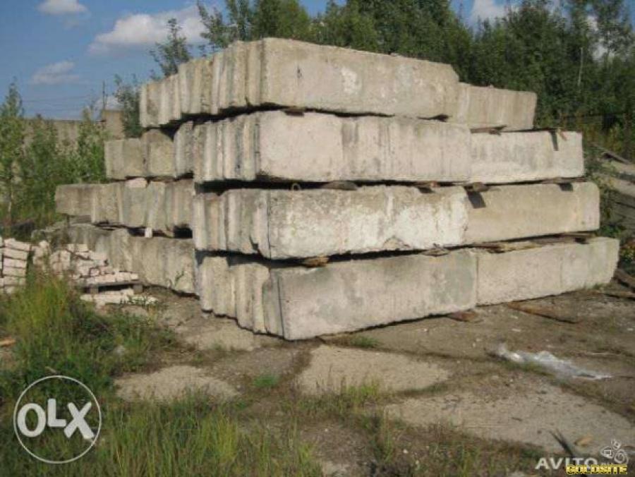Продам фундаментные блоки - 50 б/у