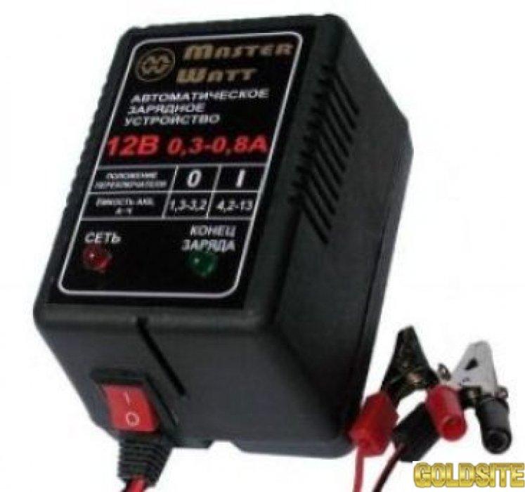 Зарядное устройство 6V/12В для аккумулятора до эхолота,  детского электромобиля (машинки,  мотоцикла