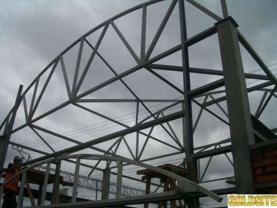 Металлоконструкции:   изготовление и монтаж Днепропетровске и области