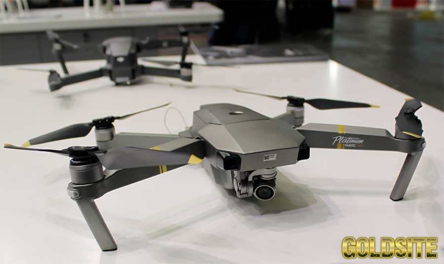 Квадрокоптер Mavic Pro Platinum Китай