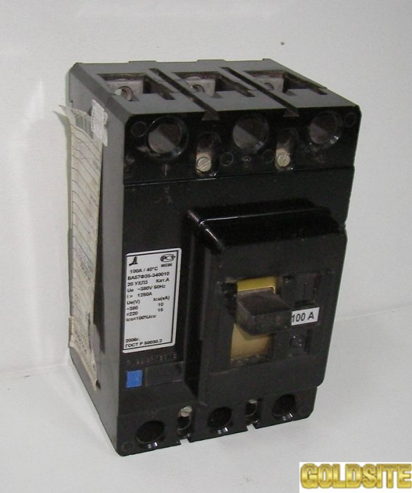 Автоматический выключатель А3144, 3726.
