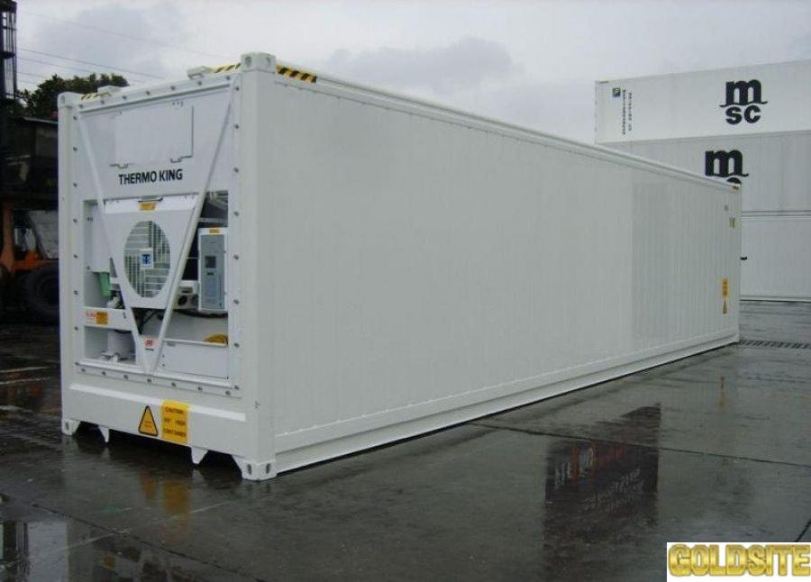 Goldsite Морской рефрижераторный контейнер установки Сarrier,   Thermo king