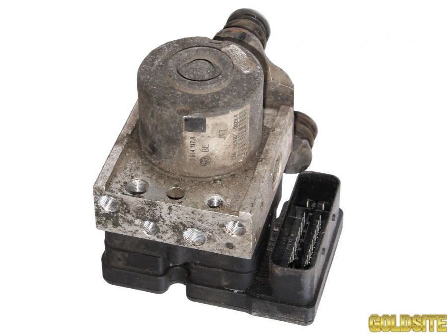 Блок ABS фольксваген кадди 2004-  2K0907379A  2К0614117А