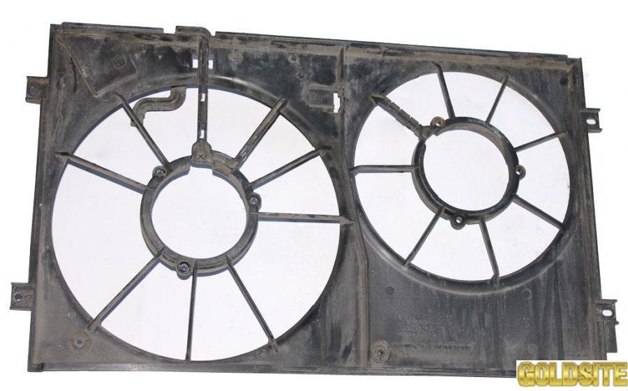 Диффузор вентилятора радиатора 1. 9TDI 2. 0SDI 2-секции фольксваген кадди 2004-2010  1К0121207J