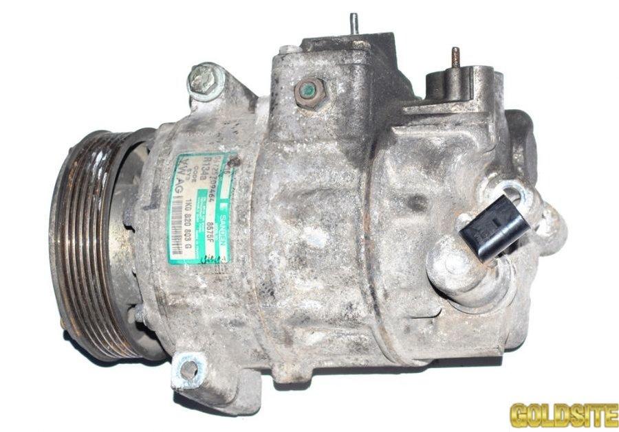 Компрессор кондиционера 2. 0SDI фольксваген кадди 2004- 06289509464 1K0820803G