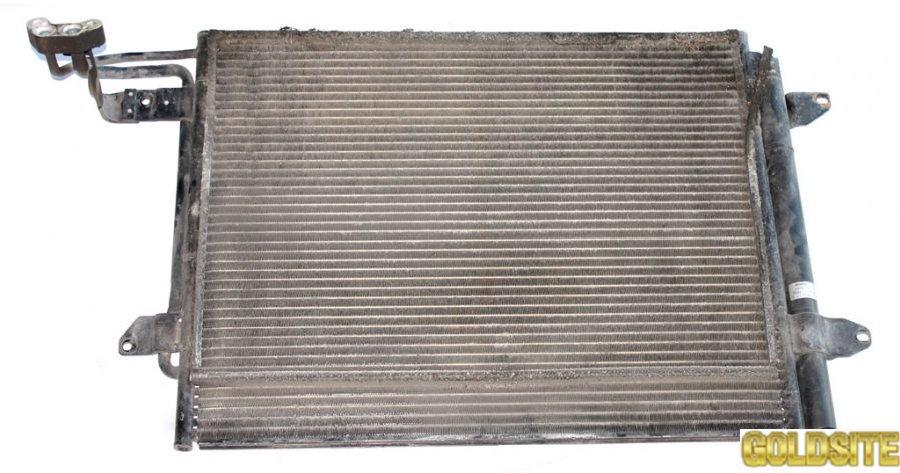 Радиатор кондиционера 2. 0SDI фольксваген кадди 2004-2010 1T0820411B  1T0820411E 1T0820411A 1T082041