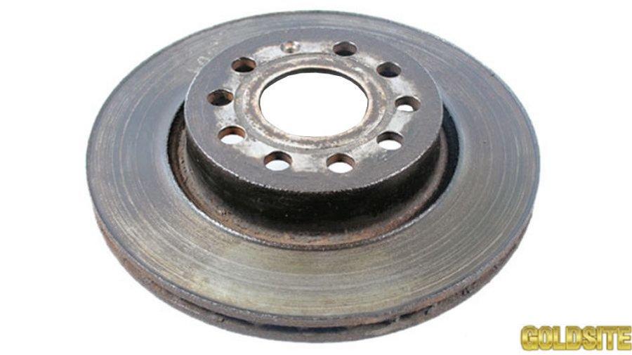 Тормозной диск передний фольксваген кадди 2004-2010