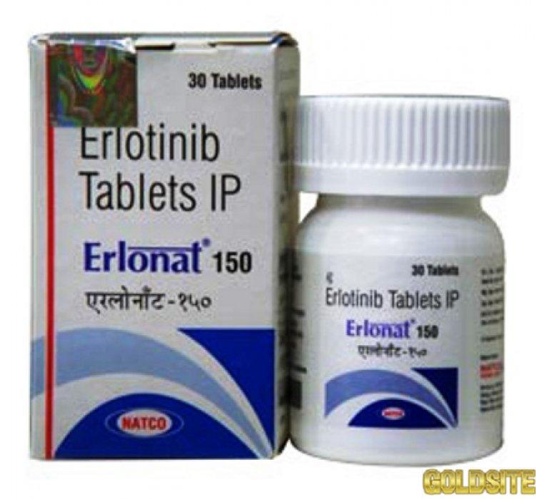 Erlonat 150  (аналог Тарцева,  Tarceva,  Erlotinib)  для лечения рака поджелудочной железы.