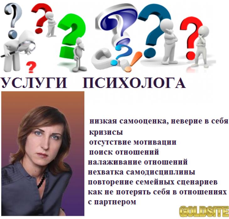 Психолог  онлайн.   Консультации психолога.