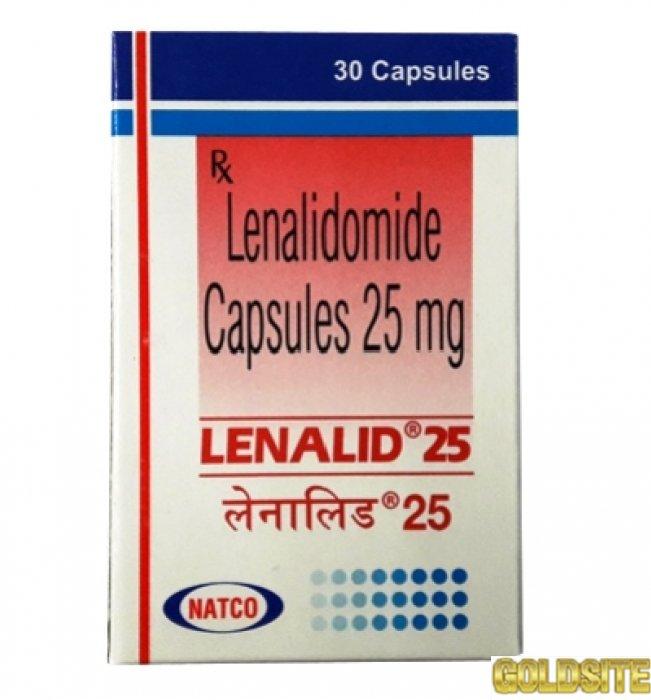 Противоопухолевый препарат Lenalid (аналог Revlimid / Ревлимид / Lenalidomide) .