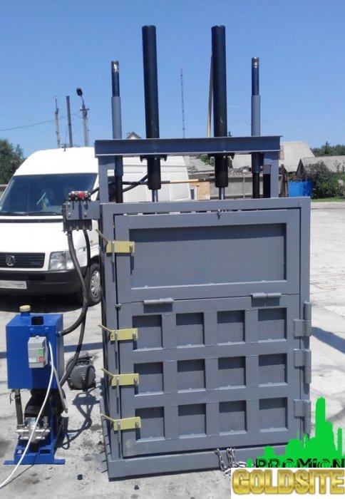 Пресс гидравлический для макулатуры и ПЭТ бутылки на 16 тонн