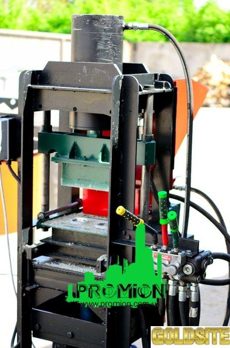 Станок для кирпича Лего гидравлика 40тонн
