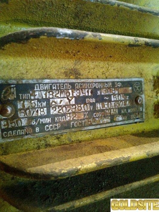 Продам электродвигатель 4а 182 м6 fэу11
