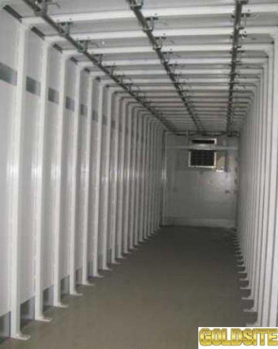 Подвесные пути для рефрижераторов и контейнеров