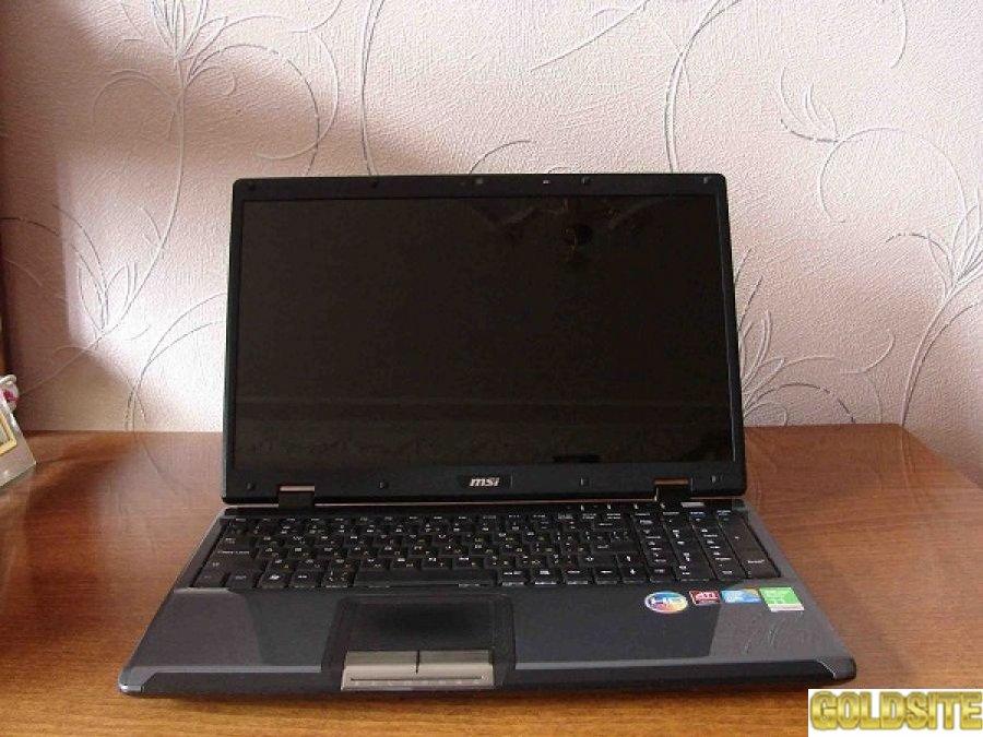 Практически новый Игровой ноутбук MSI CX600