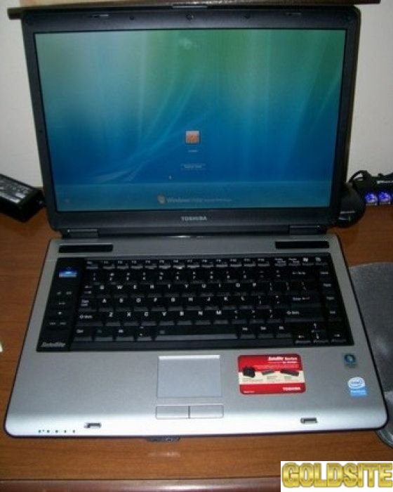 Очень шустрый и надежный ноутбук Toshiba Satellite A135.