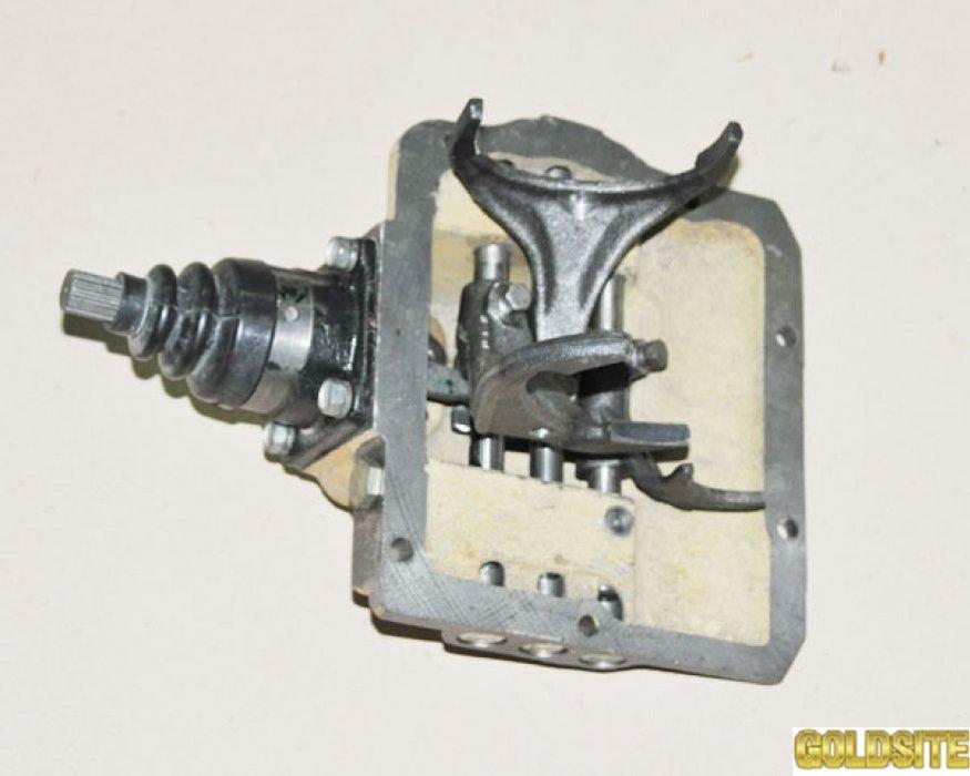КПП УАЗ-452  механизм 4-сп 3741-1702010-11