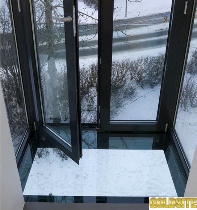 Французские окна из алюминия и стали