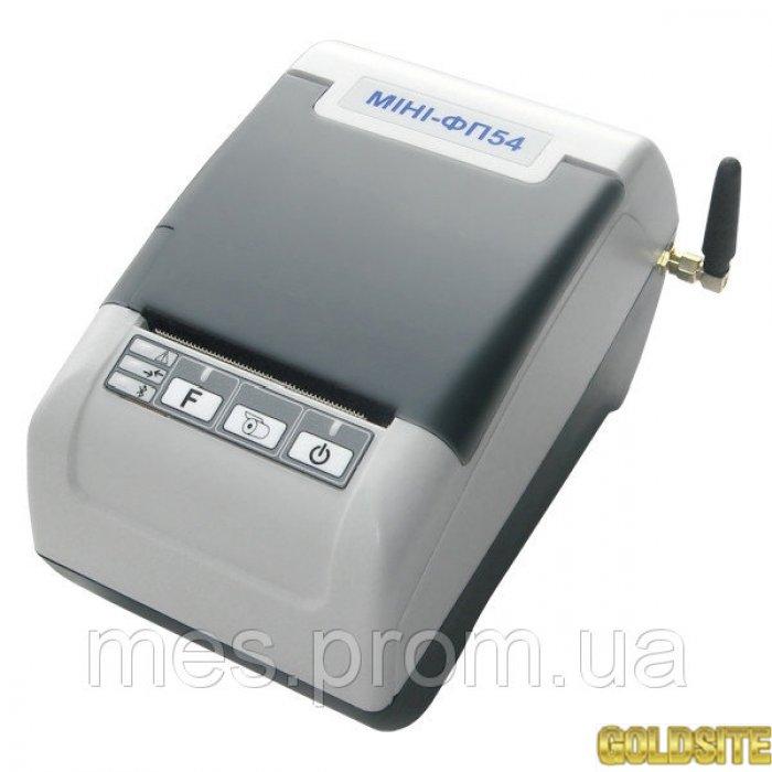 Кассовый аппарат,  Фискальный регистратор МІНІ-ФП54. 01Е.