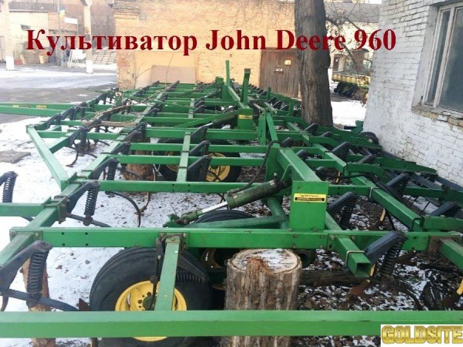 Купить культиватор  Джон Дир.   Культиватор John Deere 960 12 м.