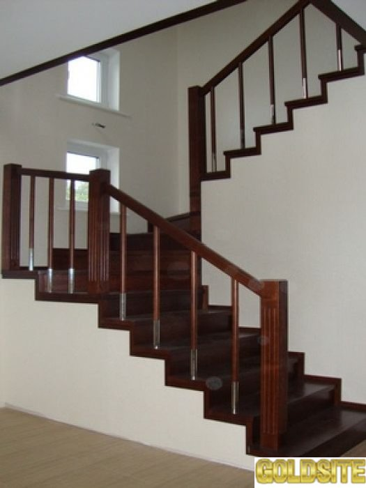 Деревянные лестницы для дома.