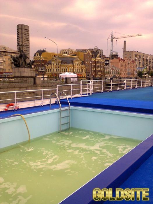 Открытие бассейнов на летний период.