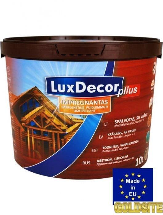 Пропитка для деревини LuxDecor Плюс (10 л.  )