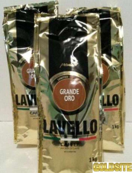 Кава в зернах LAVELLO 1 кг.  ОПТ.