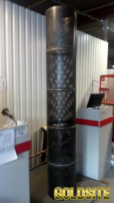 Ситовые цилиндры для тыквоуборочных комбайнов