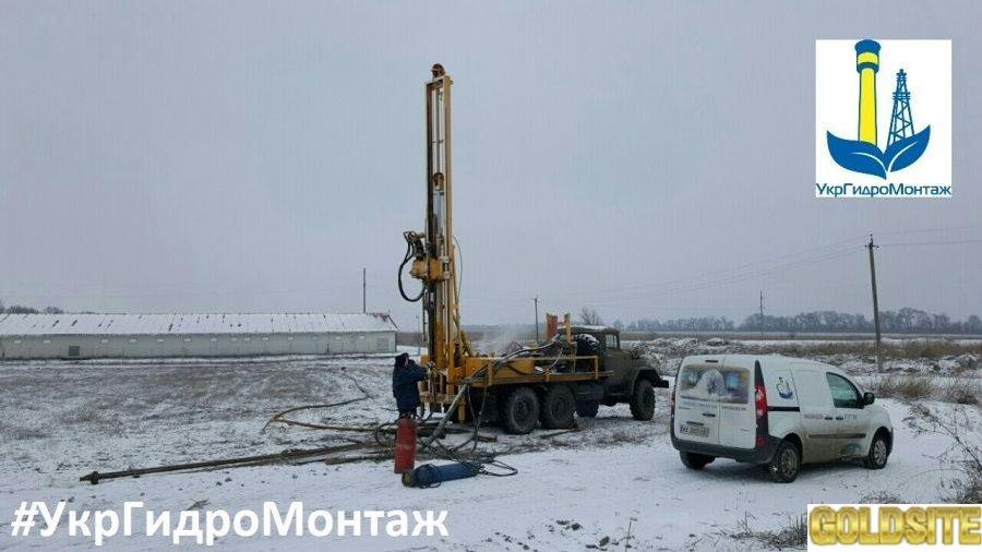 Бурение скважин на воду,   под ключ в Запорожье и области