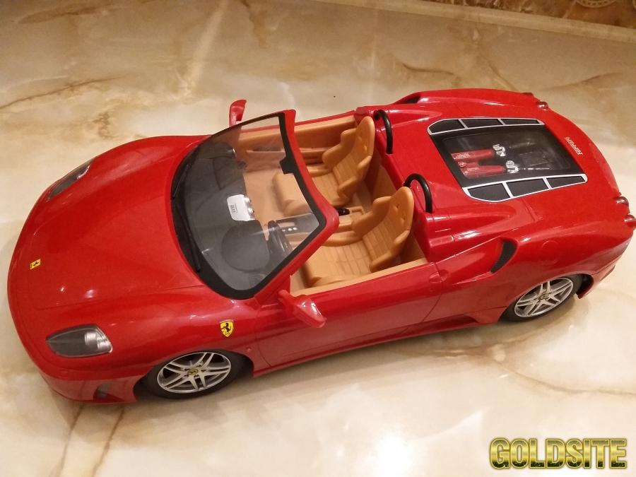 Детская радиоуправляемая машинка Ferrari