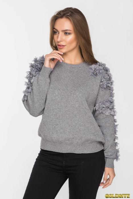 Нарядный свитер 4058