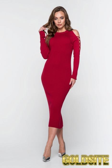 Яркое нарядное платье 2327