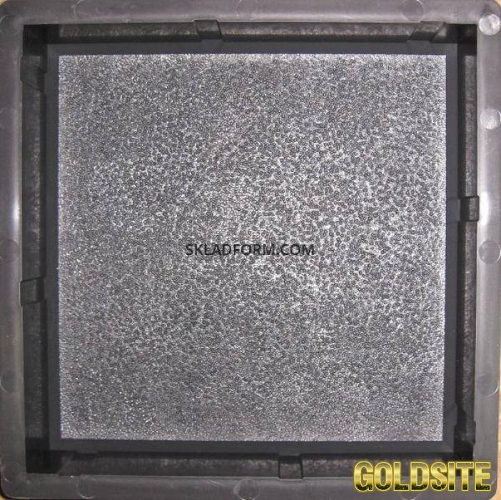 Формы для тротуарной плитки Кирпич дорожный шагрень 4, 5 см