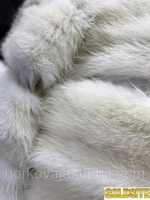 Жилетка из норки кремовая