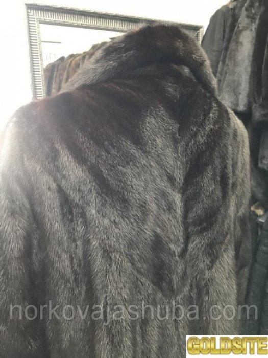 Норковая шуба длинная saga mink